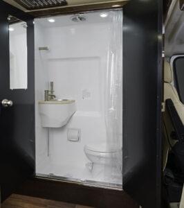 RV Wet Bathroom